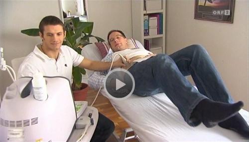 Echtzeit-Ultraschall im ORF